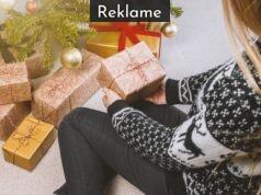 Pige med julegaver